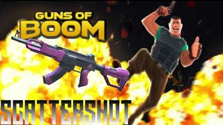 Guns Of Boom SCATTERSHOT Weapon Gameplay Awesome Weapon Killing Spree X2