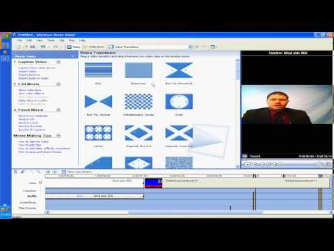 Chroma key with windows movie maker