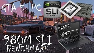 GTA 5 PC | 980 M SLI |  BENCHMARK | WATCH THIS VIDEO @ 60FPS