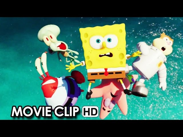 The SpongeBob Movie: Sponge Out of Water VIRAL VIDEO 'Christmas Greeting' (2014) HD