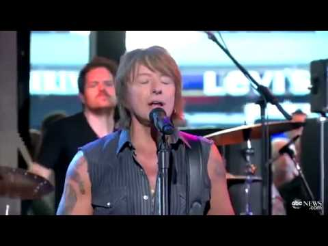 Richie Sambora - Every Road Leads Home to You ( LIVE ABC News 2012)
