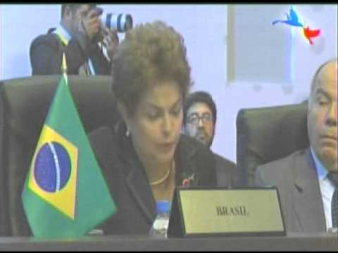 Discurso de Dilma Rousseff en la VII Cumbre de las Américas, Panamá 2015