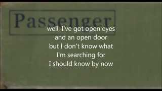 Passenger - Whispers (lyrics on screen) (studio version)