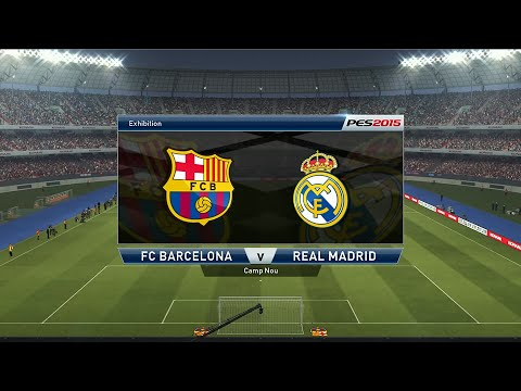 FC Barcelone - Real Madrid [PES 2015] | Liga BBVA 2014-2015 (28ème Journée) | CPU Vs. CPU