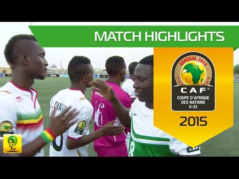 Mali vs Nigeria | U-23 Africa Cup Of Nations, SENEGAL 2015