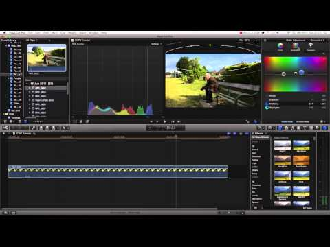 Final Cut Pro X Advanced Tutorial - Secondary Color Corrections