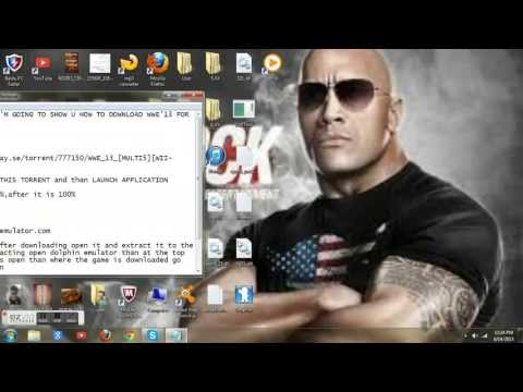 how to download wwe 13 for pc free