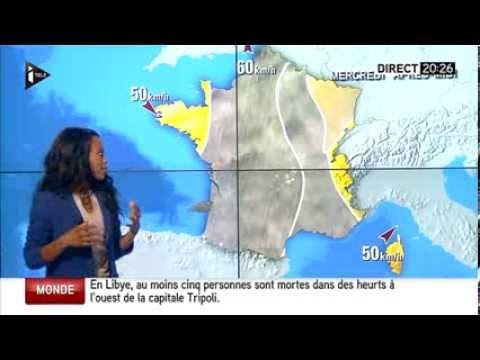 21/01/2014 La meteo c'est parfoi épuisant sur i TELE