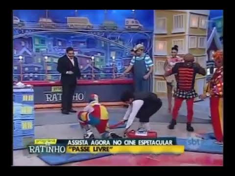 Luís Ricardo Pega Fogo no Programa do Ratinho【09/ 12/ 2014】
