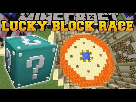 Minecraft: ULTIMATE DIAMOND LUCKY BLOCK RACE - Lucky Block Mod - Modded Mini-Game