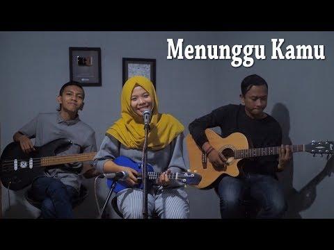 ANJI - MENUNGGU KAMU Cover by Ferachocolatos ft. Gilang & Bala