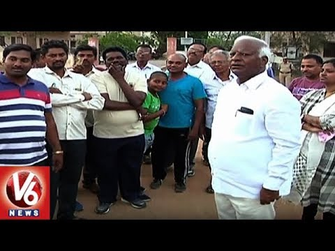 Dy CM Kadiyam Srihari Conducts Survey In Warangal For 2019 Elections | V6 News