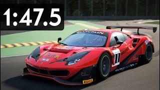Assetto Corsa Competizione - Ferrari 488 GT3 Hotlap at Monza (1:47.5 + SETUP)
