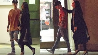 Justin bieber and Selena Gomez ! Beverly Hills 2015 ♛