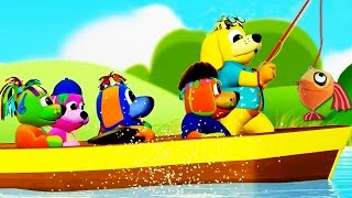 Row Row Row Your Boat | Nursery Rhymes | Popular Nursery Rhymes | For Kids by Raggs Tv