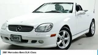 2001 Mercedes-Benz SLK-Class  Minnetonka Minneapolis Wayzata,MN 72990AD