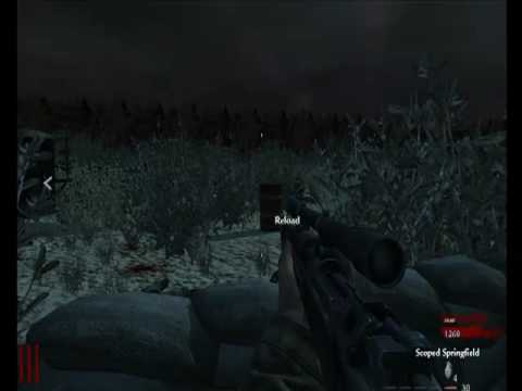 Call of Duty 5 Zombie Map Fort Part 1