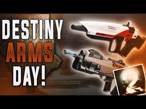 Destiny Arms Day! (DESTINY 2 BETA CODE GIVEAWAY)
