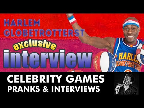 Harlem Globetrotters Interview - Promoting the 2012 UK tour