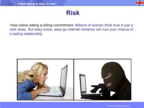 Internet dating is dangerous