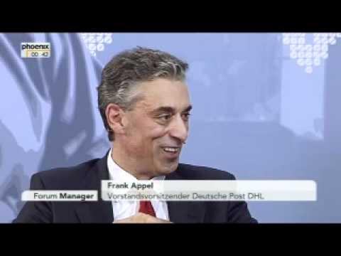 FORUM Manager - Nina Ruge und Marc Beise im Gespräch mit Frank Appel vom 25.09.2011