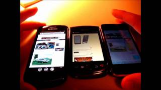 Browser Deathmatch - Windows Phone 7 vs. iPhone 3GS vs. BlackBerry Torch Speedtest