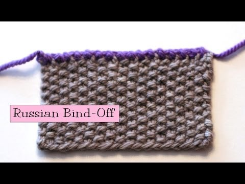 Knitting Stitch Bind Off : Basic Knitting Tips Techniques How To Bind Off Knitting