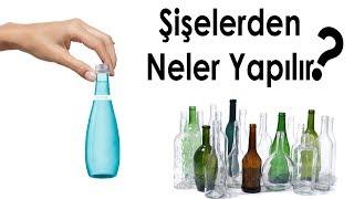 Cam Şişelerden Neler Yapılır | Atma Dönüştür | Turn Glass Bottle into Cool Things | DIY