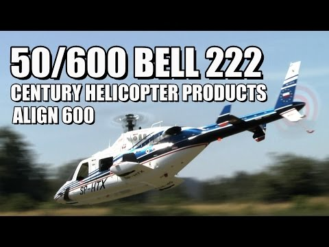 Bell 222 - 600 Size Fun-Key Bell Helicopter