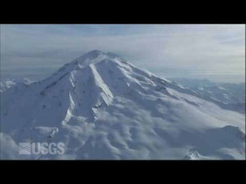 Redoubt Volcano B-Roll Footage Video