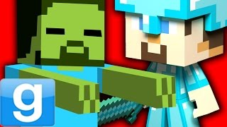FUNNY MINECRAFT ROLEPLAY!! - Gmod Minecraft Playermodel & Pills Mod (Garry's Mod)