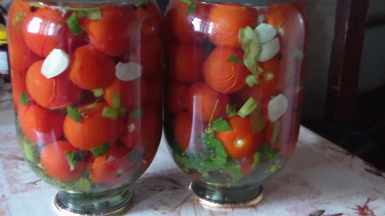 Как закрывать помидоры на зиму рецепт с