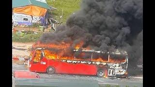 Cháy xe khách khủng khiếp tại đường mai chí thọ!ĐĂNG KÍ KÊNG GIÚP EM NHÉ!!!