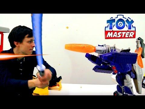 #Трансформеры: Гальватрон против всех! Toy Master - распаковка игрушек. Видео для мальчиков