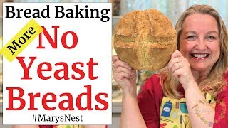 How to Bake Bread Without Yeast - Easy Soda Bread Recipe - Irish Soda Bread - #StayHomeAndCookWithMe