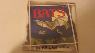 Bats- Gail Gibbons- Read Aloud For Kids
