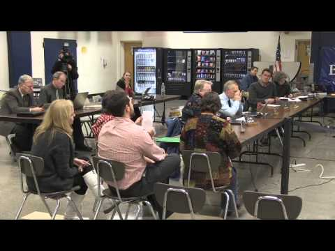 Burlington School Board Meeting: January 7, 2013 - 08/23/2013