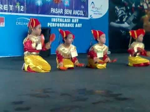 Tari Piring Anak-anak Tk video