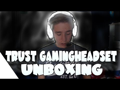 TRUST GXT322W (GAMING)HEADSET REVIEW/UNBOXING