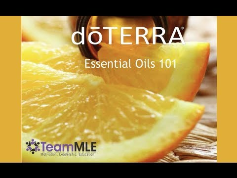 doTERRA Essential Oils 101 Webinar with Emili Whitney