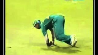Shahzaib Hasan's Wicket ((9))..Brillant cach by Duminy..1st T20 PAK vs RSA