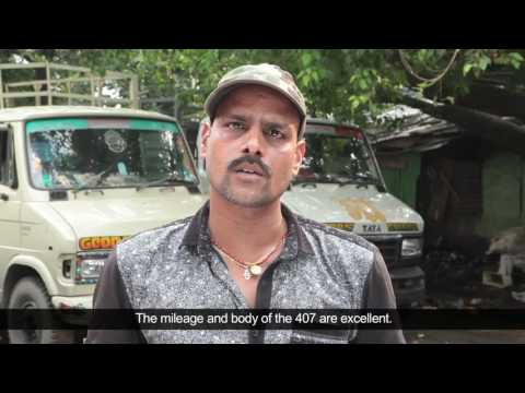 TATA 407 :  Dilip Shaw shares his experience
