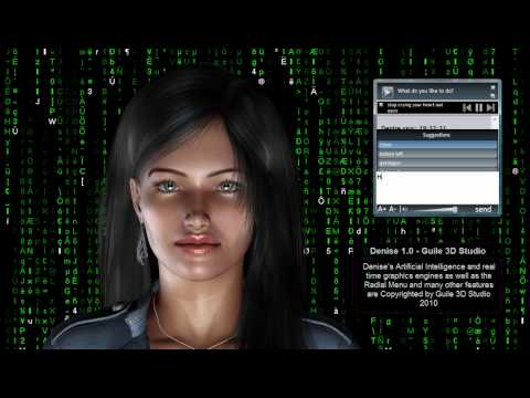 Virtual Assistant Denise 1.0 - Guile 3D Studio - Part 3