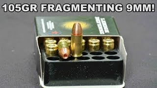 105gr +P Controlled Fracturing 9mm! Lehigh Defense