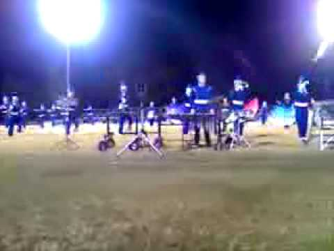 Quitman High School Proud Blue Band- Ponr video
