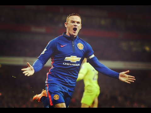 Wayne Rooney - Strongman - 2014/2015 Manchester United [HD]