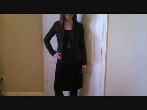 Dressing for: Work, Interview, Business Casual and Special Occasion