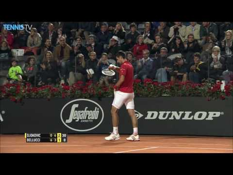 Djokovic Nadal Advance Thursday Highlights Rome 2016