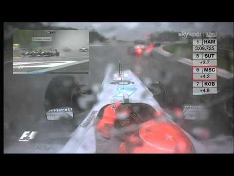 Formula1 2010 Belgian GP Schumacher vs. Rosberg Onboard [1080p]