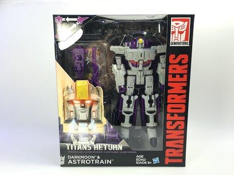 Transformers: Titans Return - Voyager ASTROTRAIN w/ Darkmoon